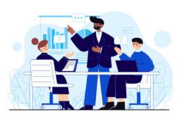 Illustration of a data visualization training