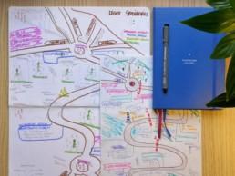 Briefing schetsen voor de Arteveldehogeschool infographic