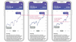 Data visualization - chart interaction in a fintech mobile app