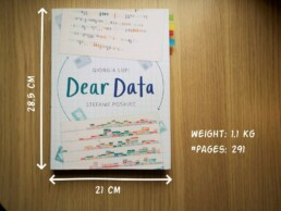 Dear Data book dimensions