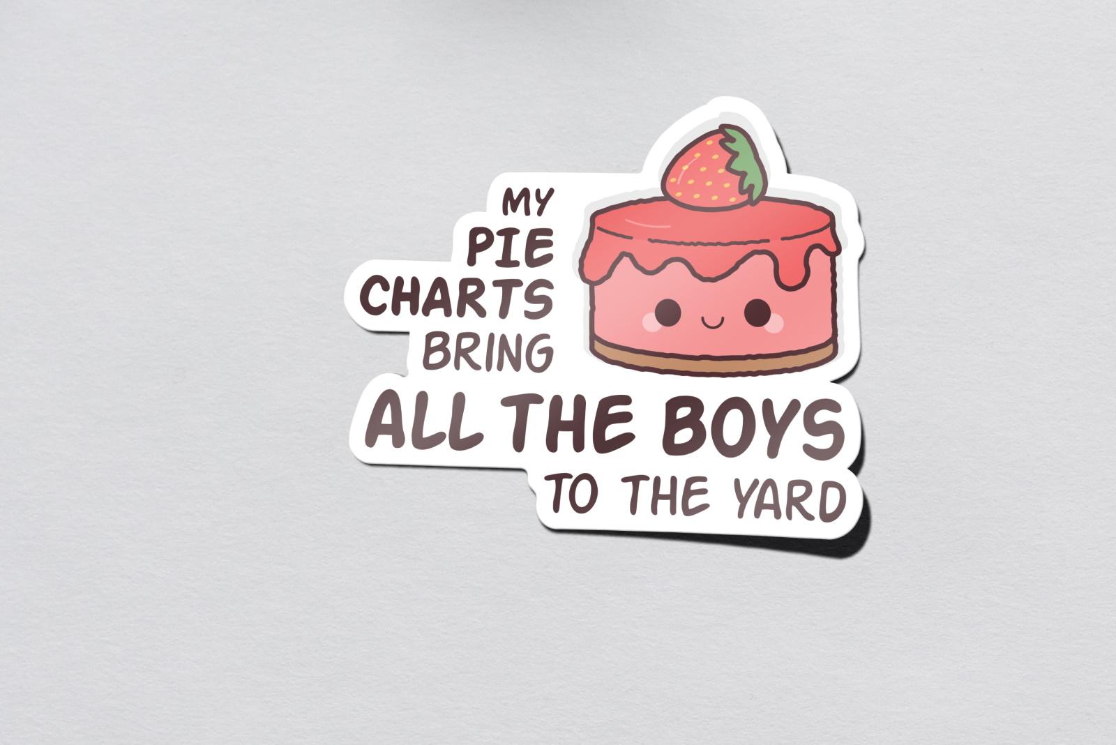sticker boys to the yard mockup