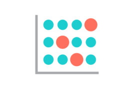 Data visualization icon